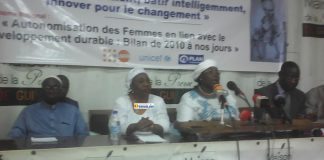 Mariama Camara, ministre de l'action sociale
