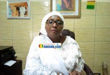 Mme Aribot M'Mah Savané DG de l'ONSPA