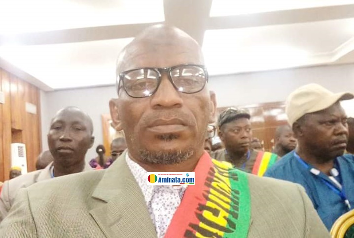 Mouctar Seintou Bah, maire de Thiangel Bory