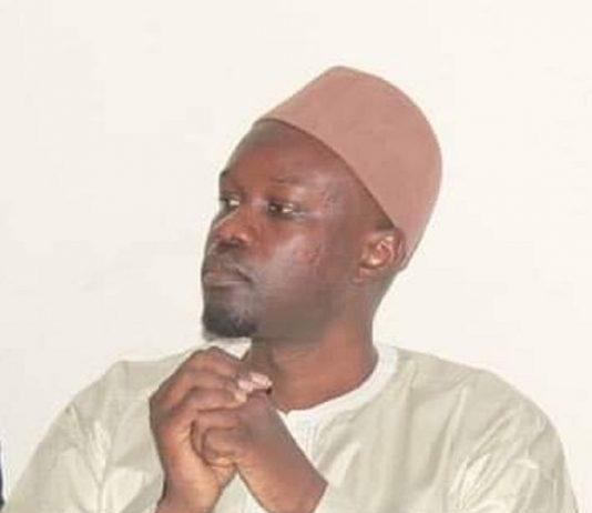Ousmane Sonko, candidat à la présidentielle sénégalaise