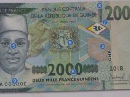 Un nouvelle coupure de billet de 2000 mise en circulation