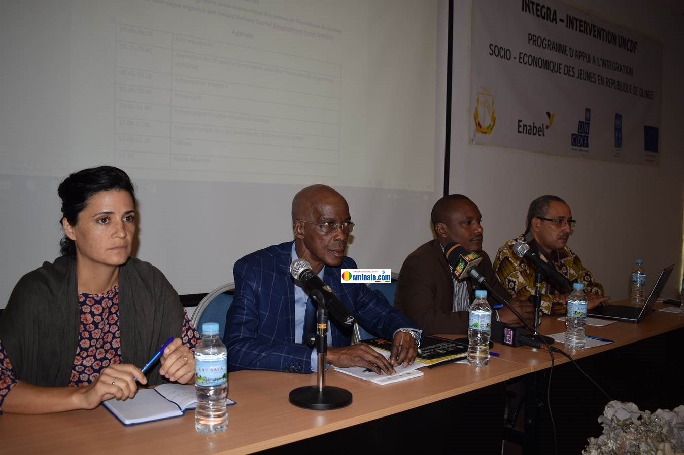 Une rencontre de partage des résultats de la mission de cadrage pour l'éducation financière du programme INTEGRA
