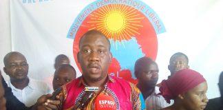 Aliou Bah, président de l'organe provisoire du Mouvement Démocratique Libéral (MoDeL)
