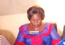 Fatoumata Sagno, membre du Bloc libéral (BL) et originaire de Gonota