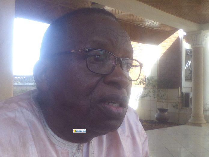 Ibrahima Chérif Bah, numéro deux de l'Union des forces démocratiques de Guinée (UFDG)
