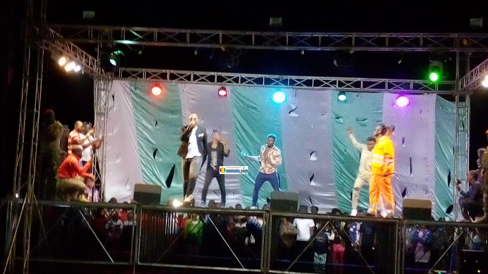 La prestation du groupe instincts Killers devant leurs fans à Labé