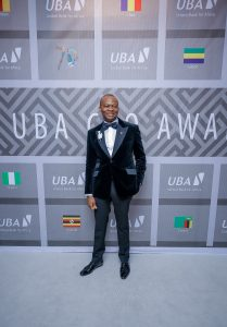 M. Kennedy Uzoka, DG du Groupe UBA, lors de la soirée spéciale 'UBA CEO Awards' marquant le 70e anniversaire de la Banque à Lagos le 27 avril.