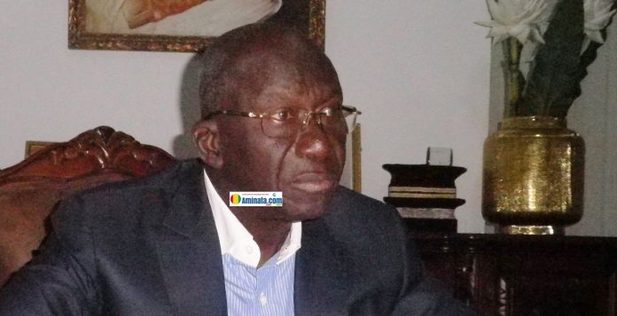 Me. Abdoul Kabélé Camara, président du parti de Rassemblement Guinéen pour le Développement (RGD)