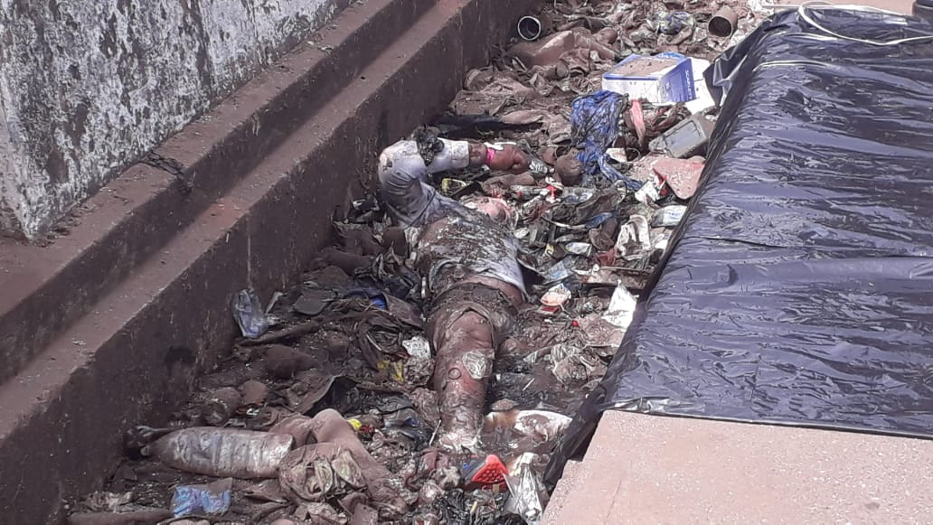 Un corps sans vie dans un caniveau à Avaria près du grand marché de Madina