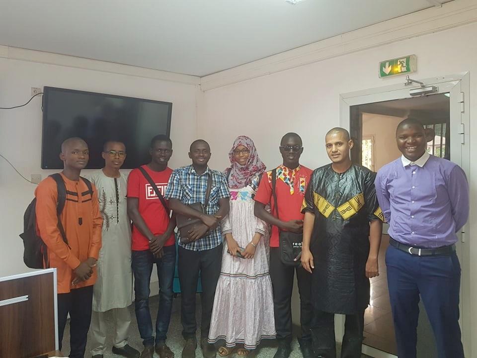 Des lauréats du concours Guinée Startup Challenge
