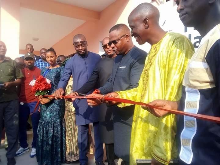 Inauguration de la maison de la presse à Kipé