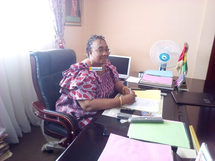 Kadiatou Diallo, secrétaire général de la Commune de Dixinn