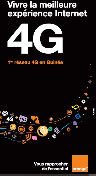 La 4G d'Orange Guinée