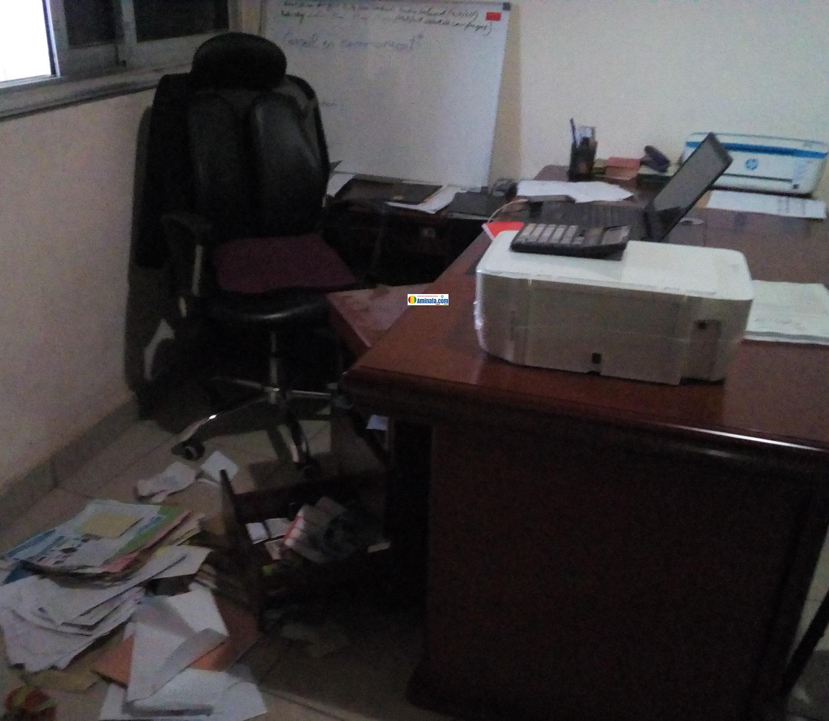 Les locaux de C24news.info cambriolés, des ordinateurs et une forte somme d'argent emportés