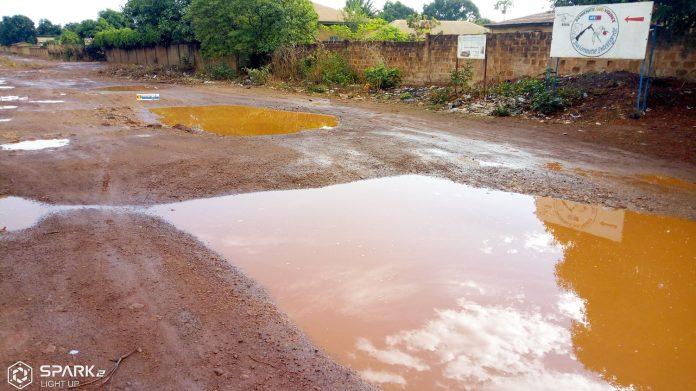Les premières pluies à Labé après des prières et des invocations dans les mosquées