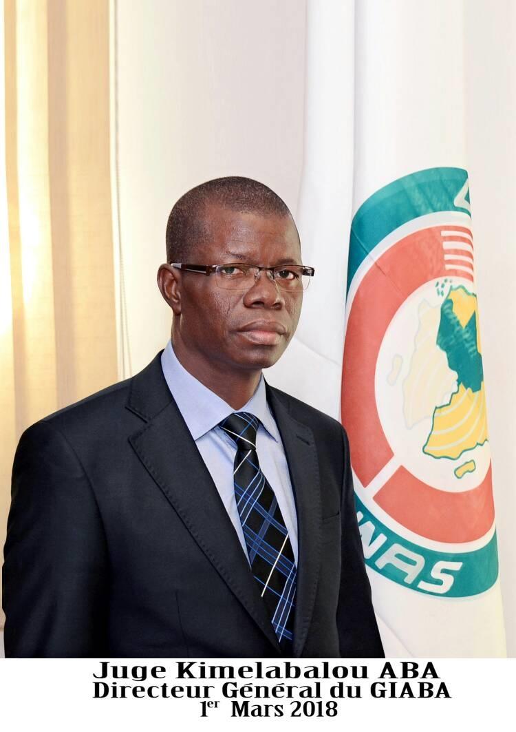 Juge Kimelabalou ABA, Directeur Général du GIABA