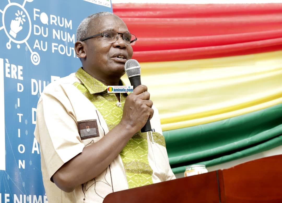 Dr Mamadou Dian Gongoré Diallo, recteur de l'université de Labé