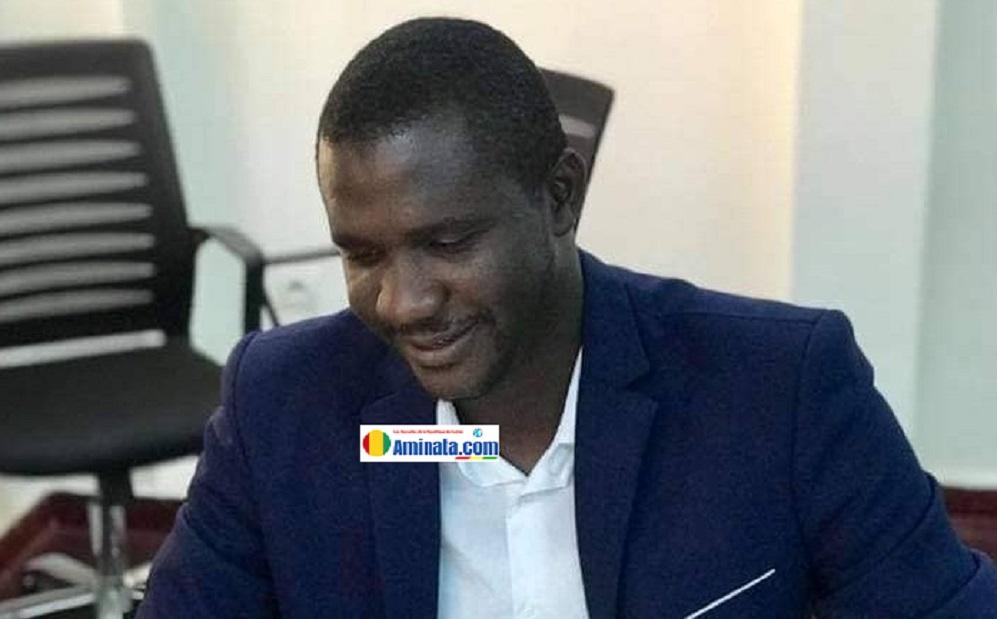 Ibrahima Kallo, l'attaché de cabinet au ministère des hydrocarbures et coordinateur de la Cellule de communication des réseaux sociaux au RPG Arc-en-ciel