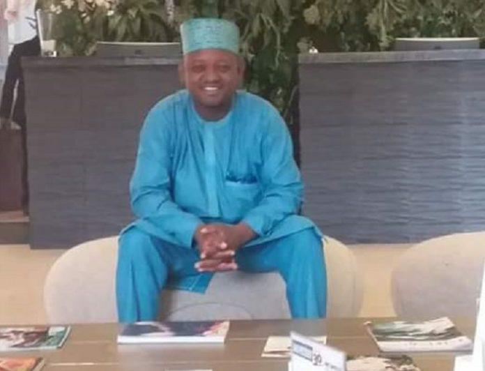 Le journaliste, Idrissa Sampiring Diallo