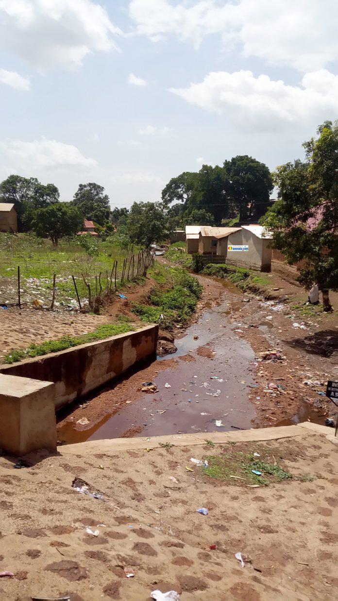 Tarissement d'un cours d'eau à Labé