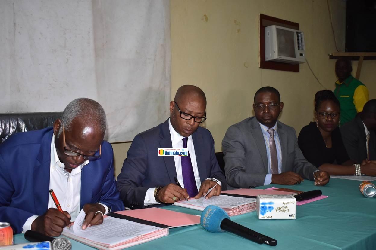 Signature d'un accord de partenariat entre Ministère de l'Enseignement Supérieur et le PNUD