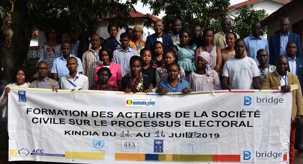 Ateliers de formations régionales en faveur des acteurs de la société civile