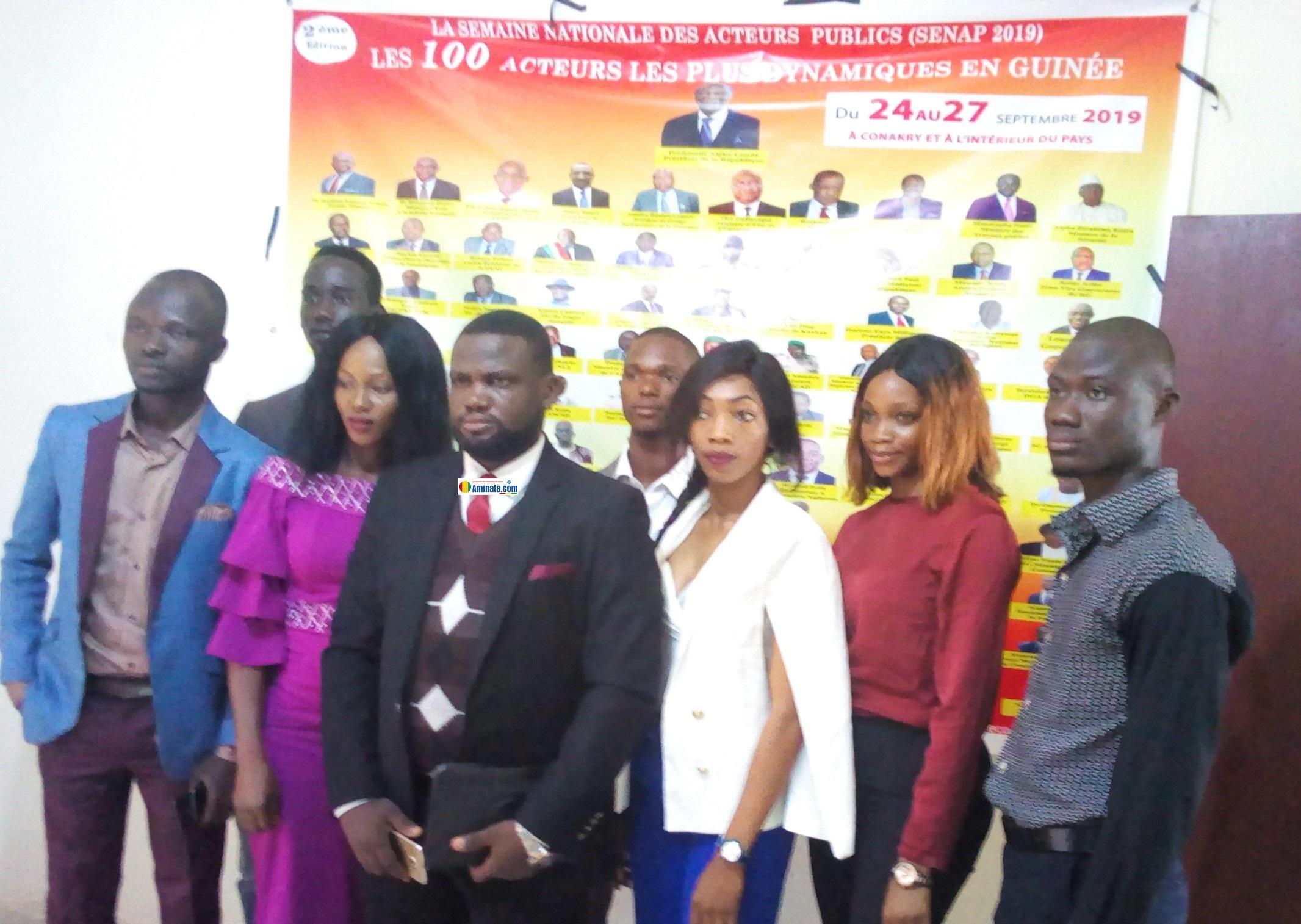 Des membres de COPE-Guinée