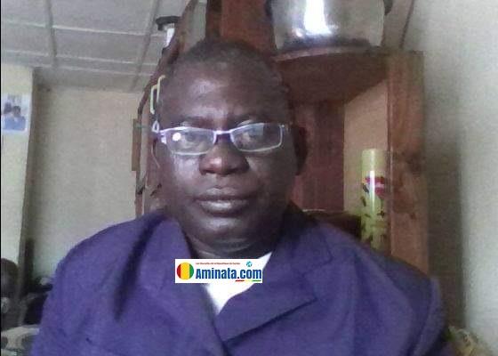 Dr Moussa Diakité, secrétaire générale de l'Université de Hafia