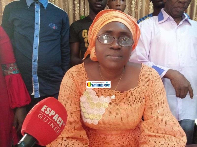 Kadiatou Bah réaffirme qu'elle est la secrétaire générale du Syndicat libre des enseignants et chercheurs de Guinée (SLECG)