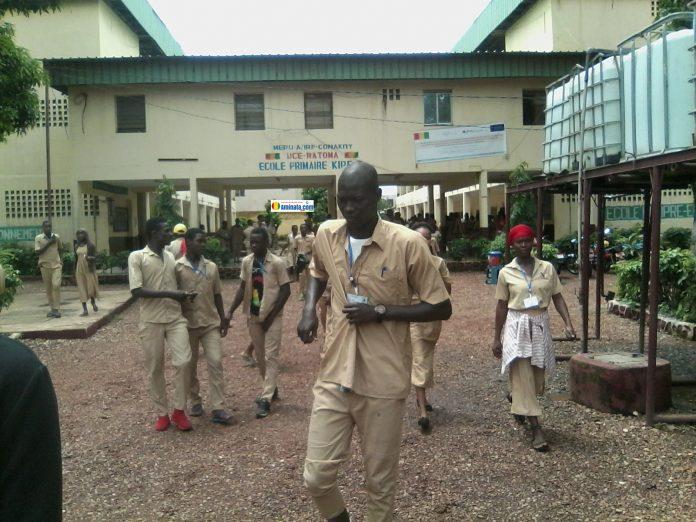 L'école primaire de Kipé dans la commune de Ratoma