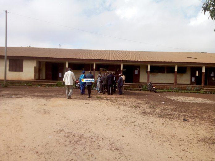 Lancement des épreuves du Bac au Lycée Wouro de Labé