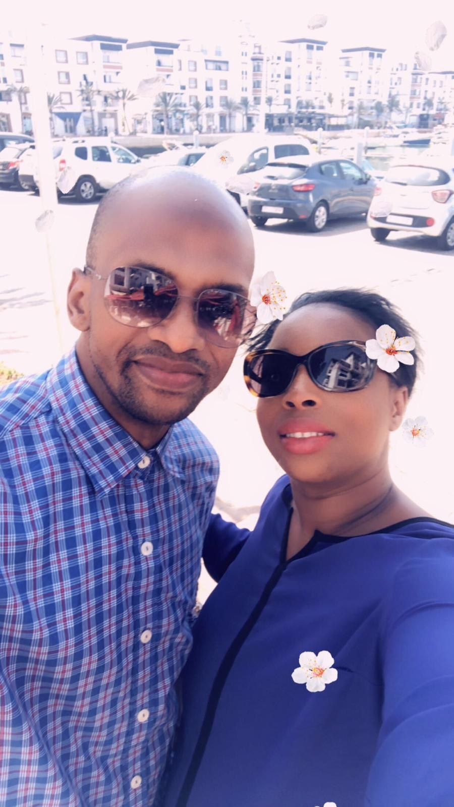 Le couple Alimou BAH et Oumou Hawa DIALLO