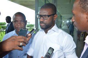 Makmid Kamara, directeur de l'ATJLF