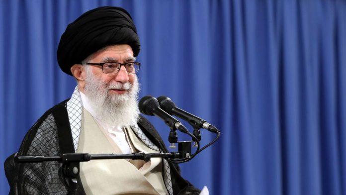 Le guide suprême iranien Ali Khamenei lors d'un discours à Téhéran le 16 juillet 2019. Photo distribuée par ses services afp.com/HO