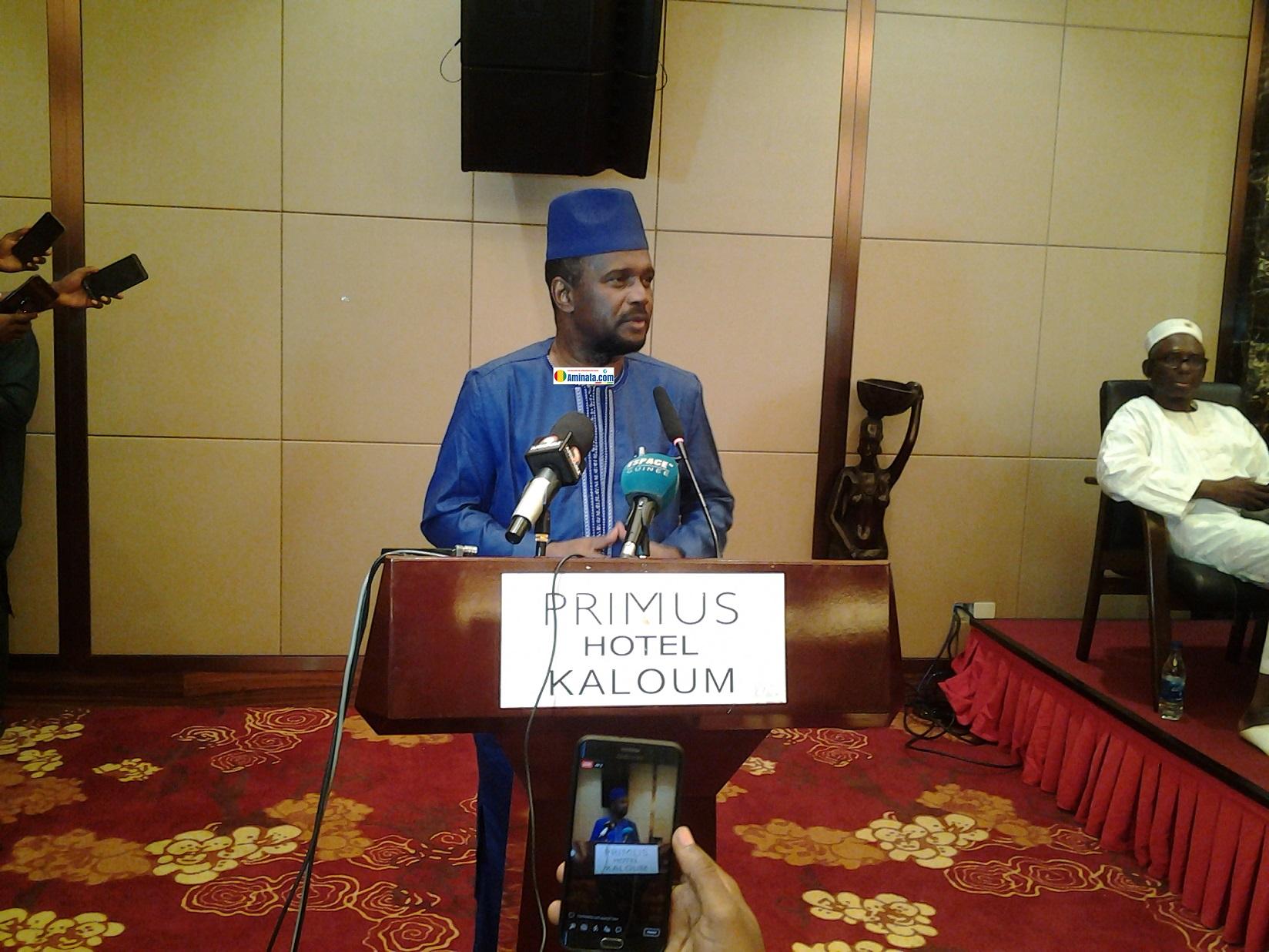 Aboubacar Sylla, ancien porte-parole de l'opposition devenu ministre d'Etat chargé des transports