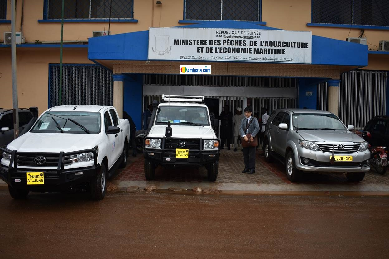 Le PNUD et le Japon offrent des équipements, mobiliers et de matériels roulants à l'ANAG