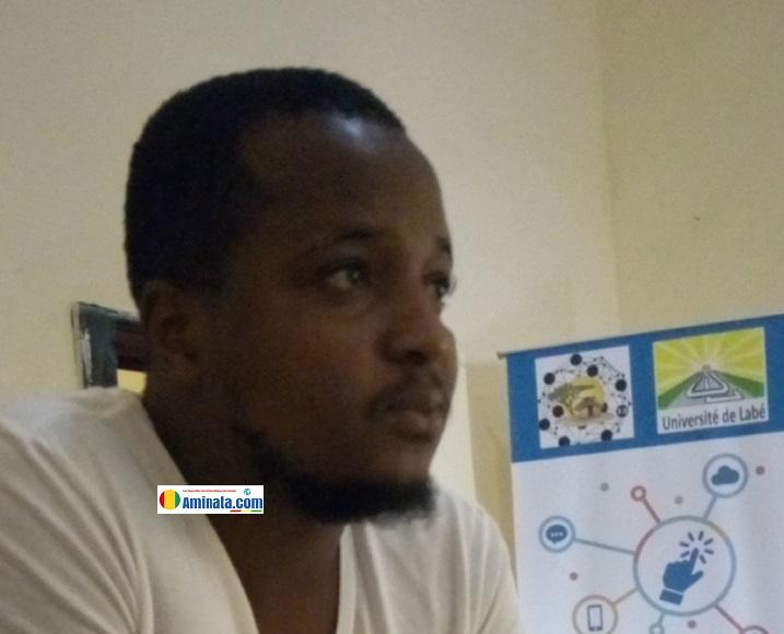 Le jeune écrivain Elhadj Ousmane Baldé