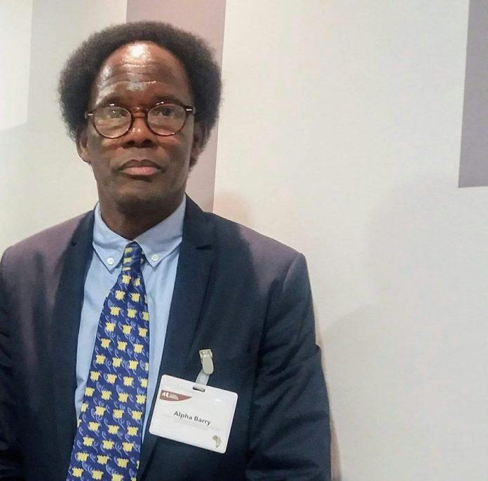 Pr Alpha Ousmane Barry, professeur des universités