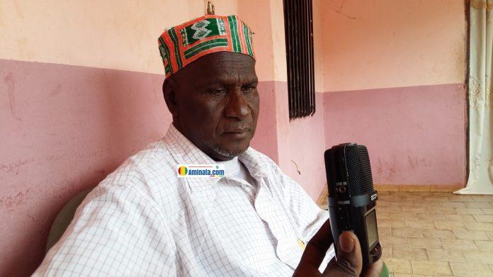 Alpha Oumar Barry, maire de Lansanaya, un des districts de Dinguiraye