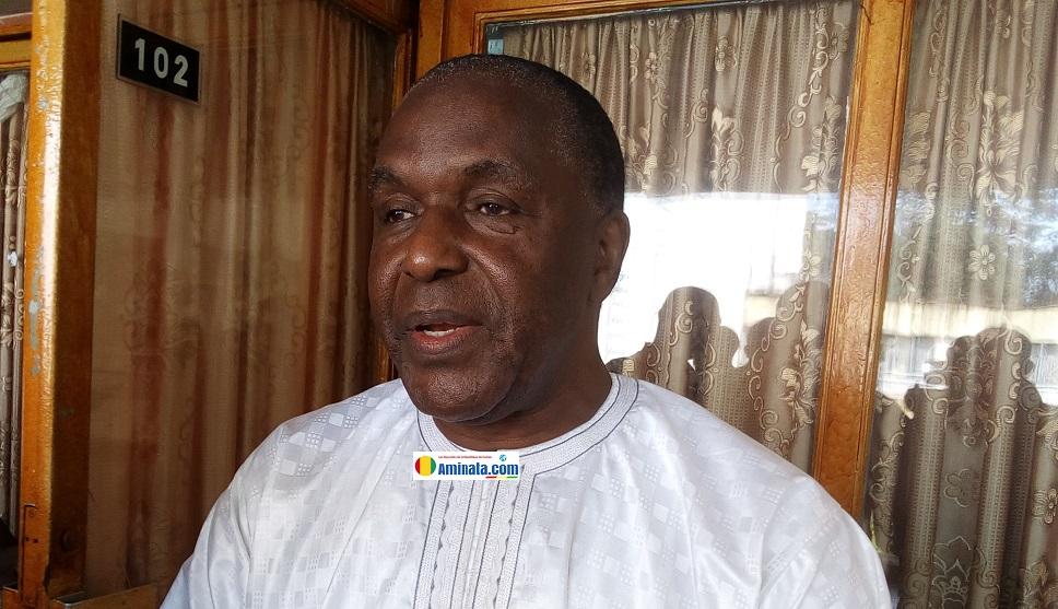 Lanciné Magassouba, secrétaire général de l'INIDH