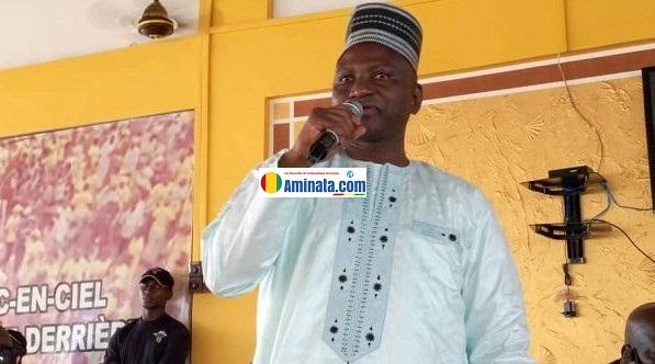 Lansana Komara, ministre de l'enseignement technique et professionnel membre du bureau politique du RPG arc-en-ciel