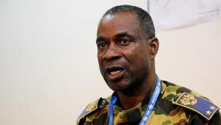 Le général Gilbert Diendéré, ancien chef d'Etat major particulier de Blaise Compaoré