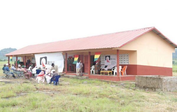 Rusal CBK offre une école primaire au secteur Nianaya