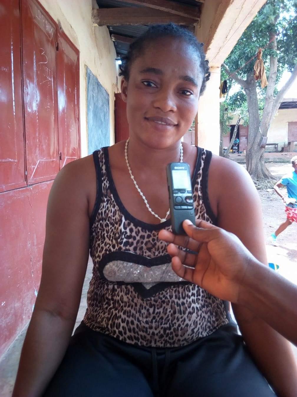 Yvonne capitaine Horoya