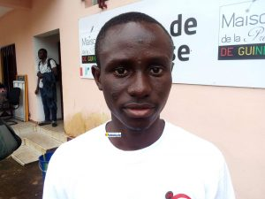 Aboubacar Bangoura, lauréat de la Fondation Tony Elumelu