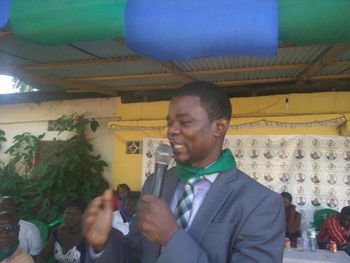 Francis Haba, président de l'Union Guinéenne pour la Démocratie et le Développement (UGDD)
