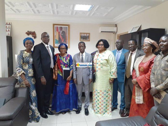 L'Unité de Coordination du Partenariat de Ouagadougou (UCPO) rencontre le ministre de la santé
