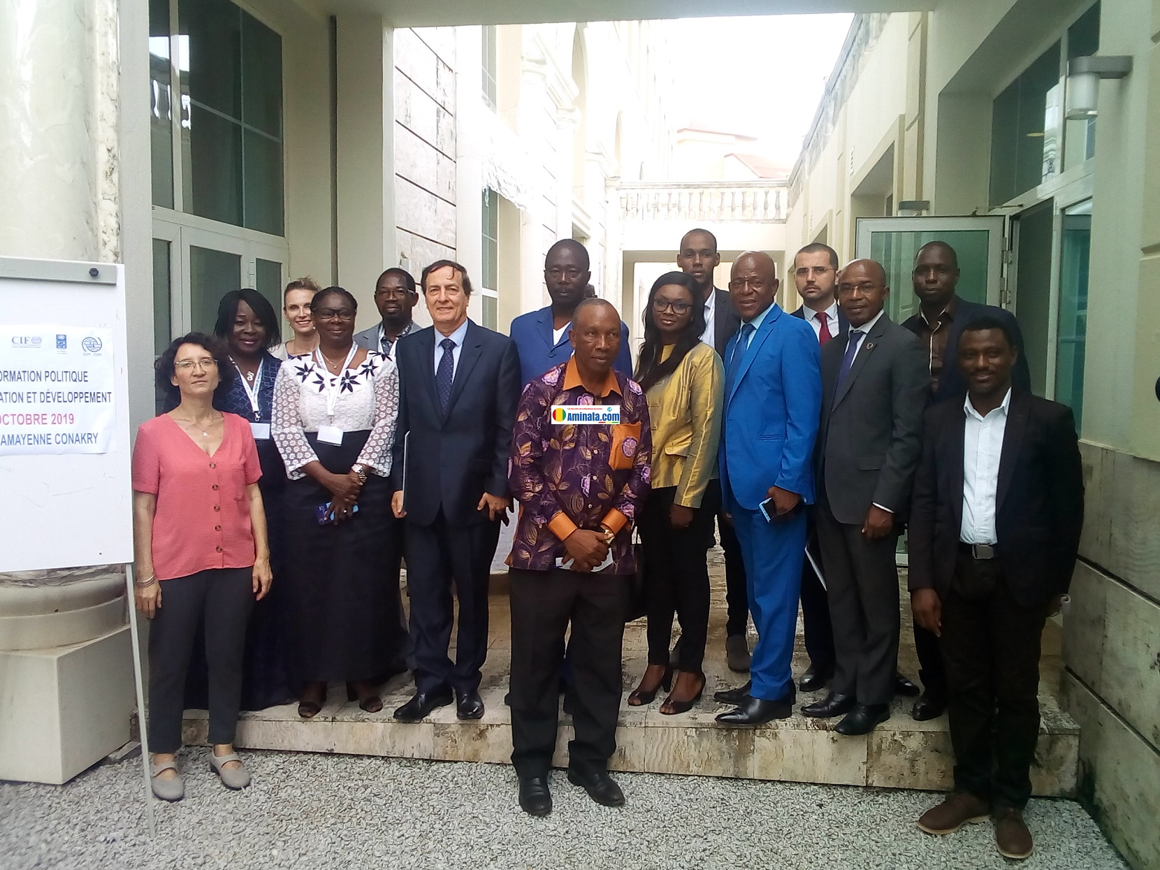 Travaux de l'atelier de formation sur la Politique de l'emploi, Migration, et Développement à Conakry ce mardi 29 octobre 2019