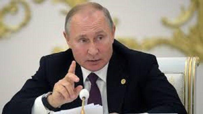 Vladimir Poutine, président de la fédération de Russie