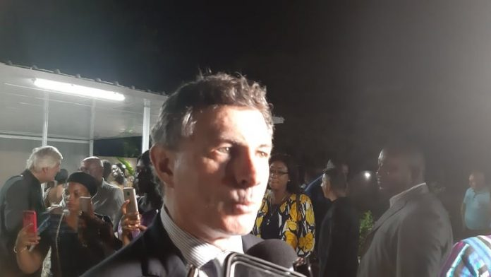 Livio Spadavecchia, ambassadeur d'Italie en Guinée